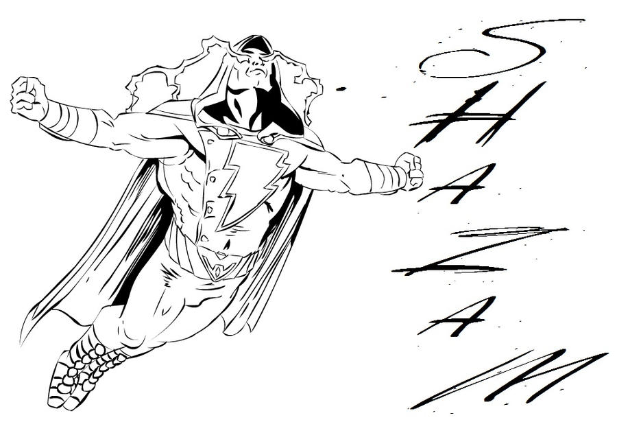 Injustice Shazam Coloring Pages Coloring Pages