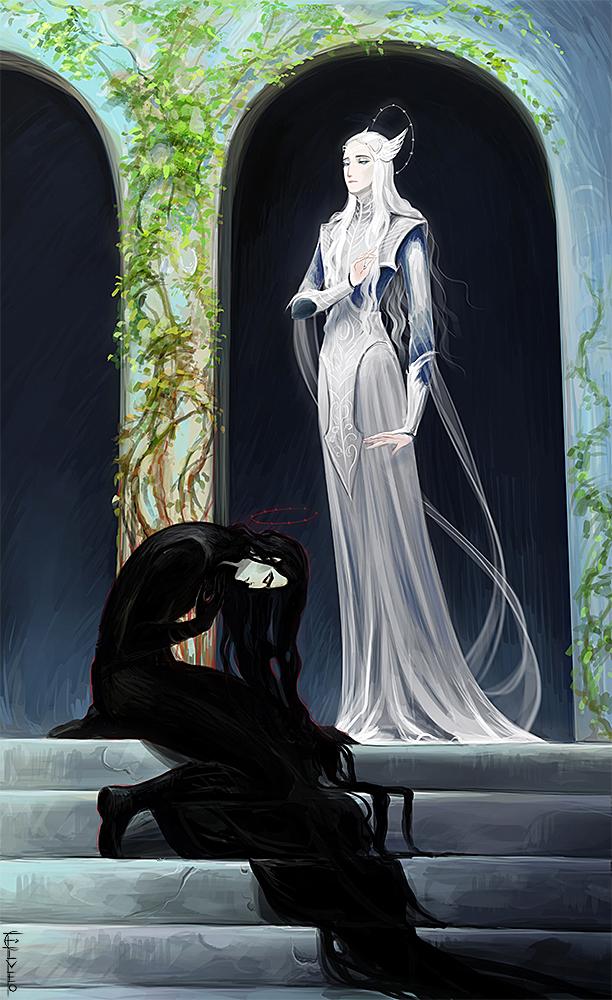 Melkor Manwe forgive by Elveo on DeviantArt Manwe
