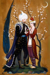 A poem for You. Mehmed II with Radu cel Frumos