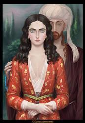 Radu cel Frumos with Mehmed II