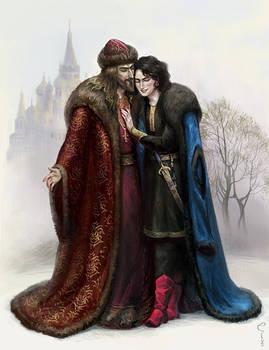 Ivan the Terrible and Fyodor Basmanov