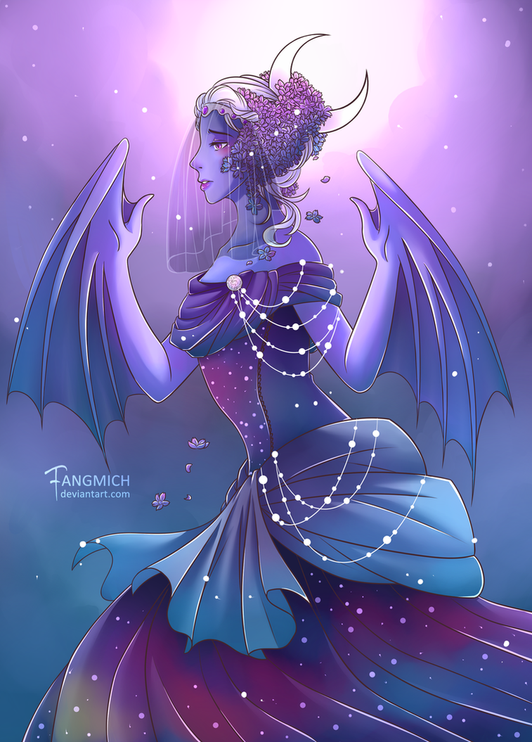 Lady of the Night by fangmich