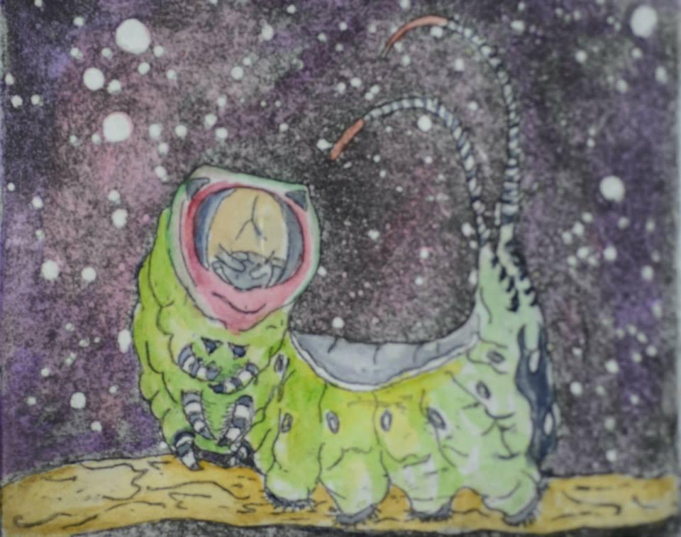 Pussmoth Caterpillar by Purple-squid