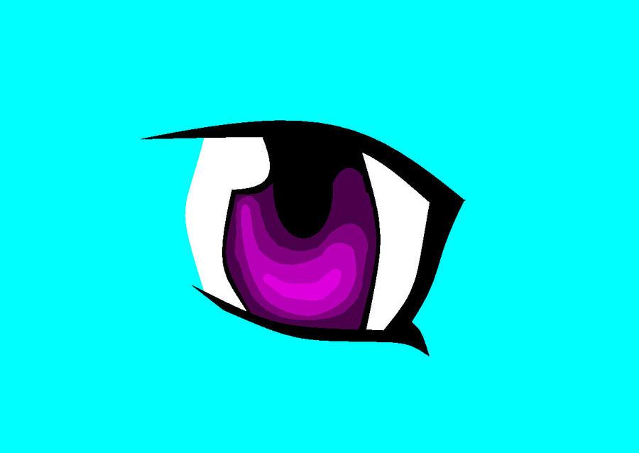 Manga Eye by CalicoGrace333