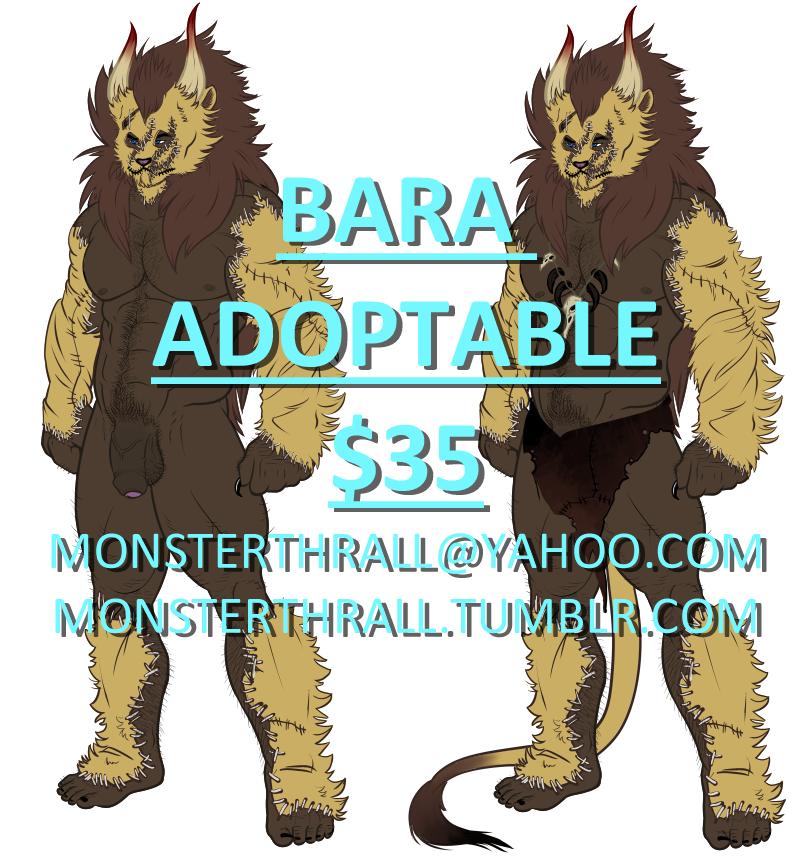 Bara Adoptable 2 by LoveOrBeKilled