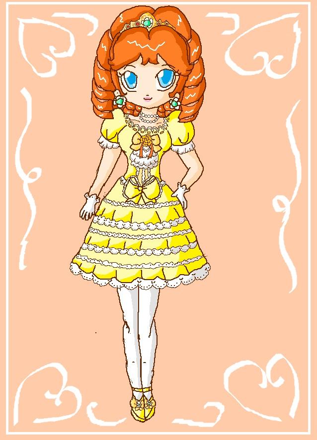 hime lolita daisy by ninpeachlover