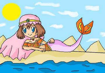arabian mermaid may by ninpeachlover