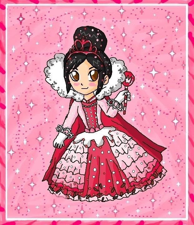 princess vanellope by babyblisblink