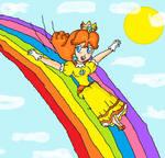 daisy rainbow slide
