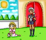 zelda's pet by ninpeachlover