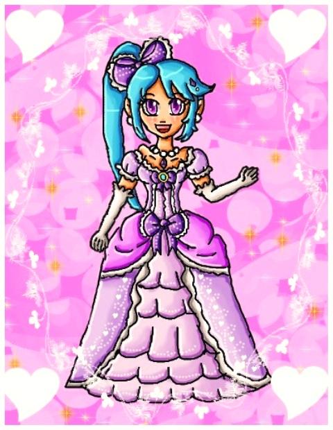 Princess Lana by ninpeachlover