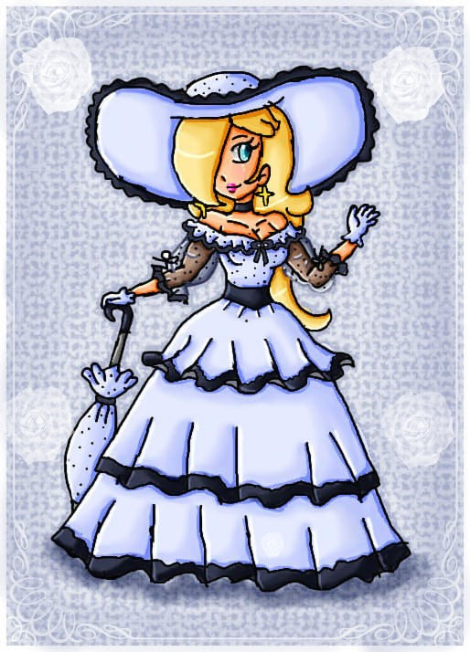 southern belle rosalina by ninpeachlover