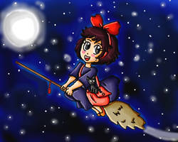 Kiki's Delivery Service by ninpeachlover