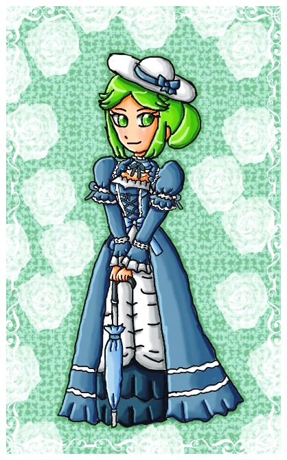 Southern Belle Palutena By Ninpeachlover On DeviantArt