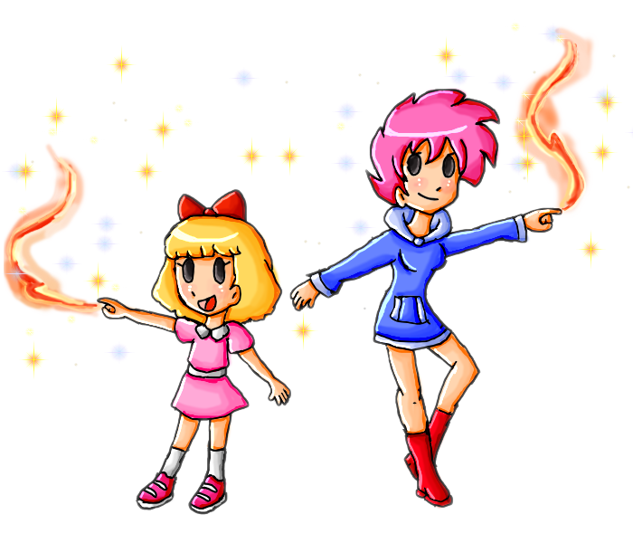 paula and kumatora by ninpeachlover