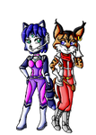 Krystal and Miyu