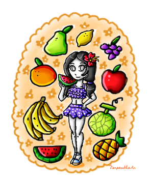 lots of fruits