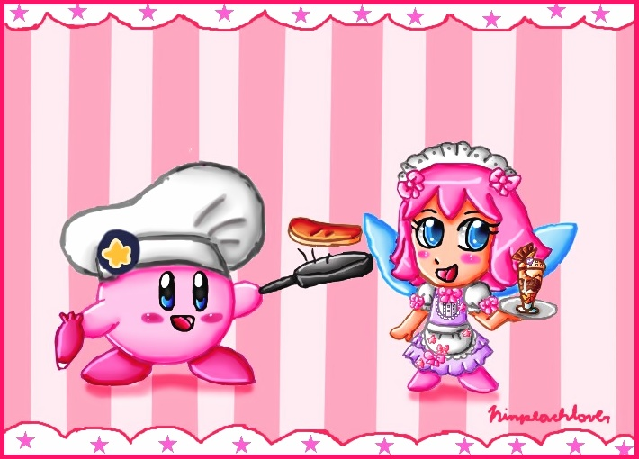 welcome to the kirby cafe by ninpeachlover