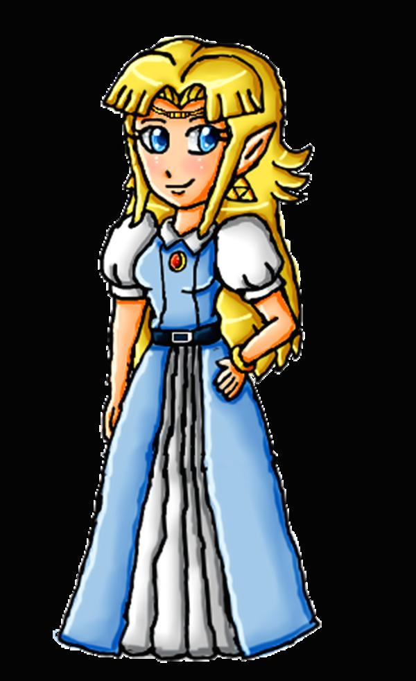 ALTTP Zelda by ninpeachlover