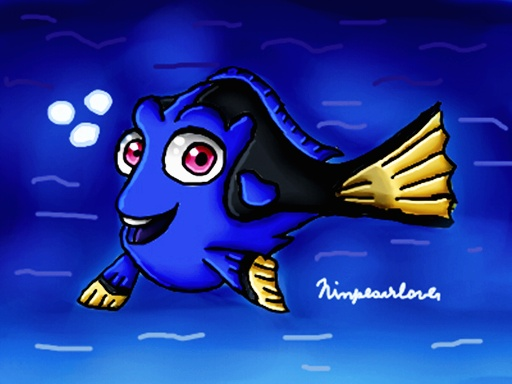 Dory by ninpeachlover