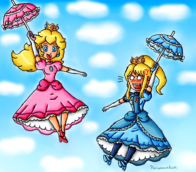 Falling like a princess by ninpeachlover