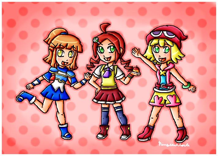 Puyo Puyo Girls by ninpeachlover