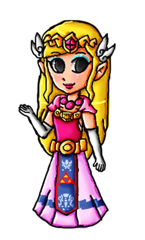 Toon Zelda remake by ninpeachlover