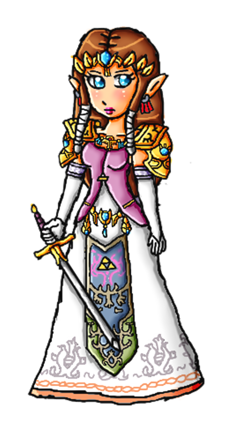 Twilight princess Zelda by ninpeachlover