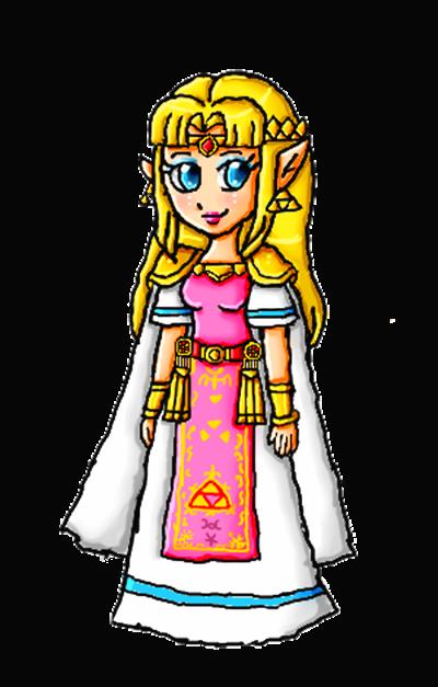 ALBW Zelda by ninpeachlover