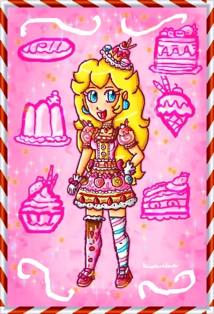 Princess of candies by ninpeachlover