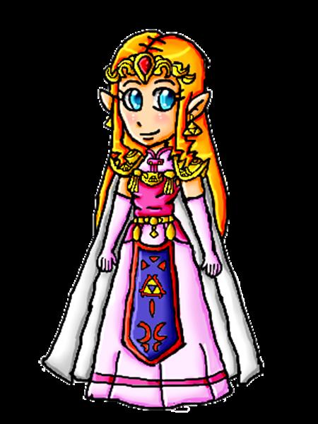 Oracle Zelda by ninpeachlover