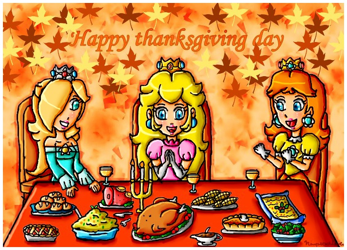 happy thanksgiving day by ninpeachlover