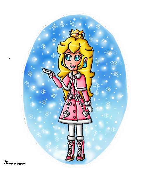 first snow of winter by ninpeachlover
