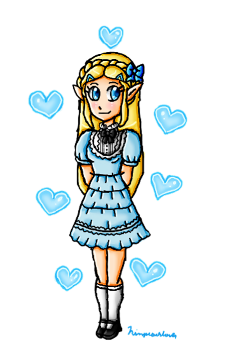 another zelda lolita by ninpeachlover