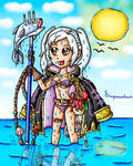 Robin Summer fishing