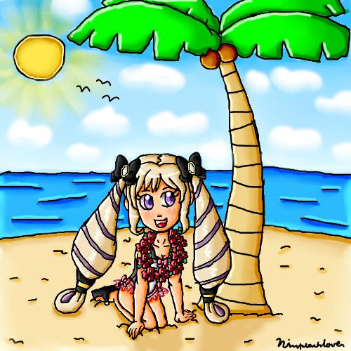 Summer Elise by ninpeachlover