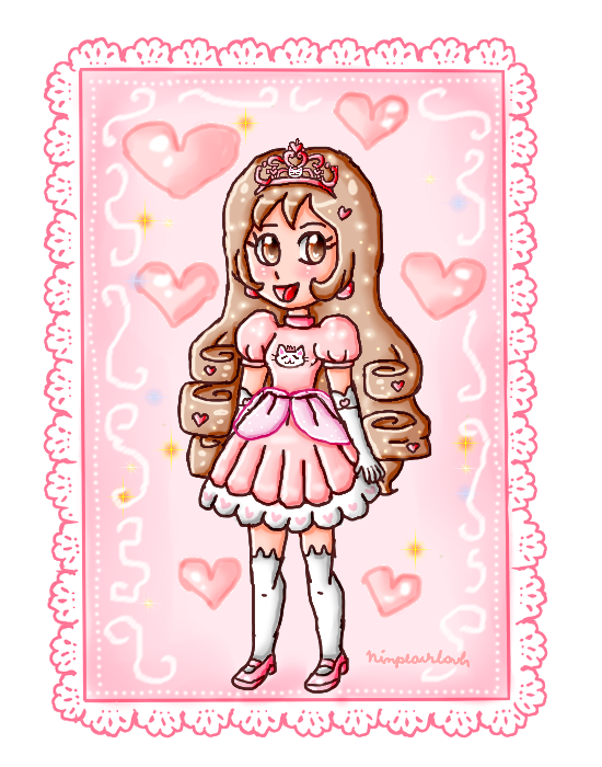 Princess Clo by ninpeachlover