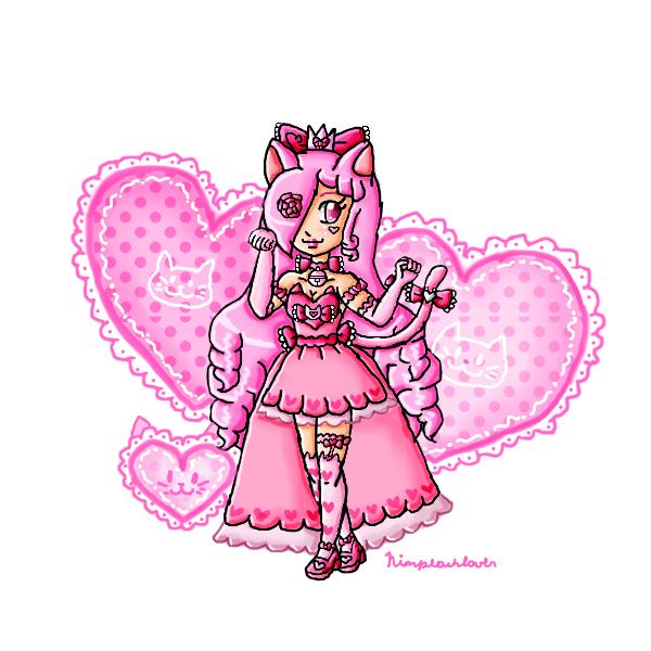 Princess Kitty Sweet Heart by ninpeachlover
