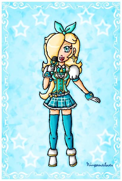 Idol Rosalina by ninpeachlover