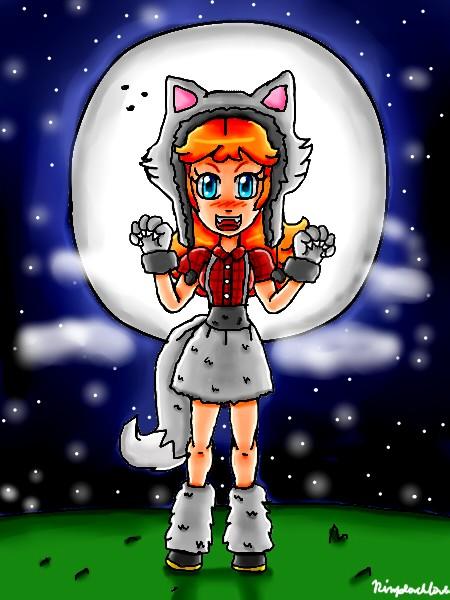 Werewolf Daisy by ninpeachlover