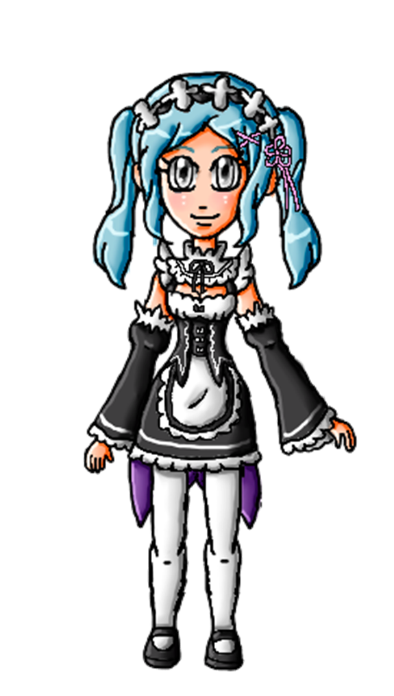 Halloween Collab-Flora Rem by ninpeachlover