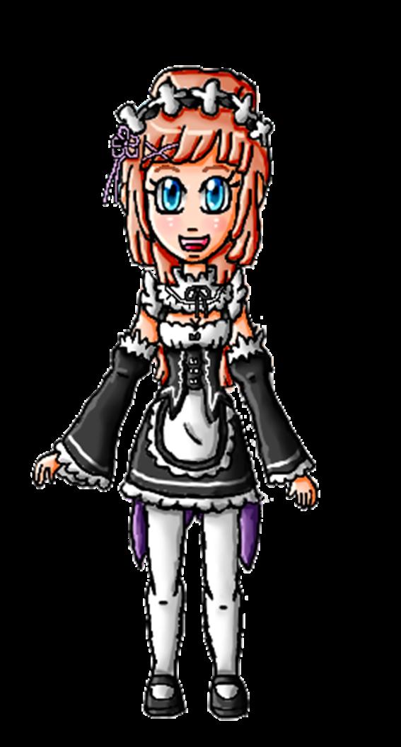Halloween Collab-Felica Ram by ninpeachlover