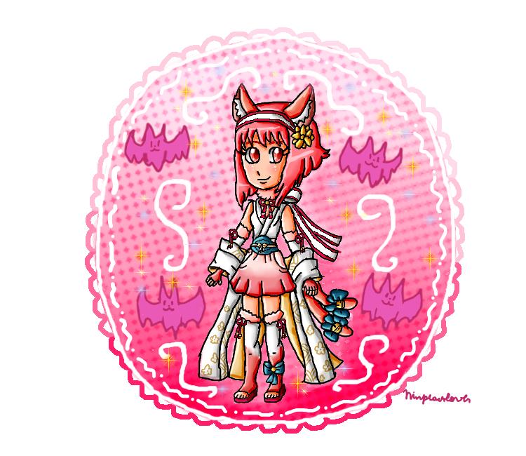 Neko Sakura by ninpeachlover