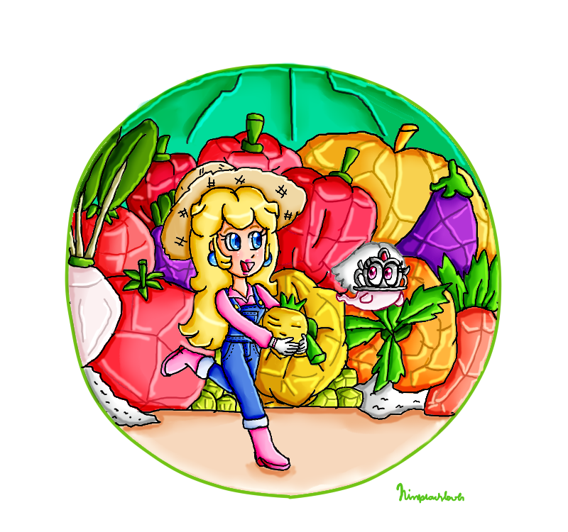 I found a golden turnip by ninpeachlover