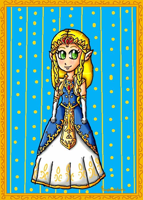 My new Zelda design by ninpeachlover