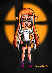 Welcome to the Smash Inkling by ninpeachlover