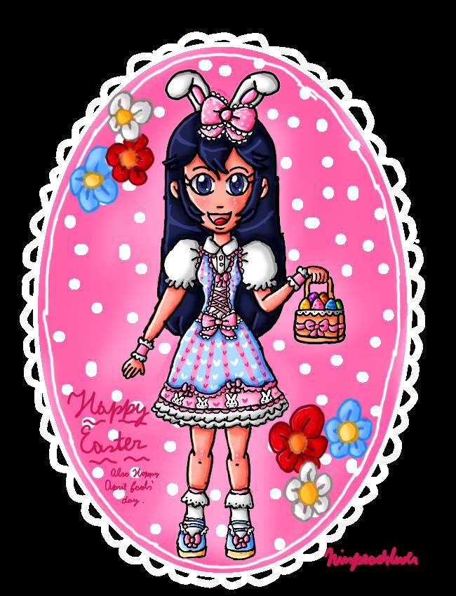 Cute lolita bunny Lucina by ninpeachlover