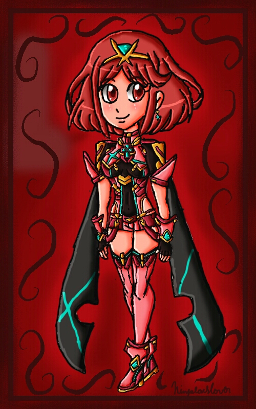 Pyra by ninpeachlover