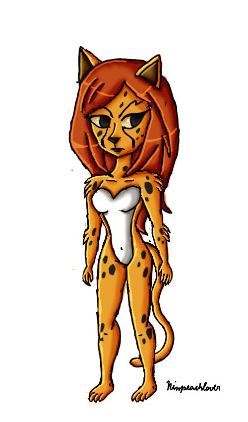 Cheetah  by ninpeachlover