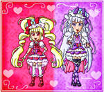 Cure MaCherie and Cure Amour